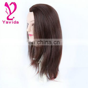 beautiful mannequin wig heads 100%human hair mannequin head size adjustable mannequin head