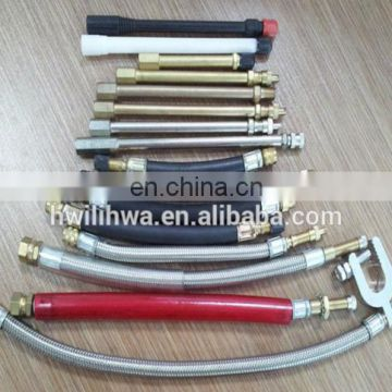 Tire valve extensions for cars and trucks