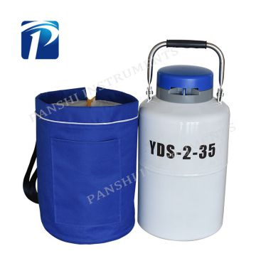 High-strength Alloy Structure 3 L Liquid Nitrogen Tank/Cryogenic Container