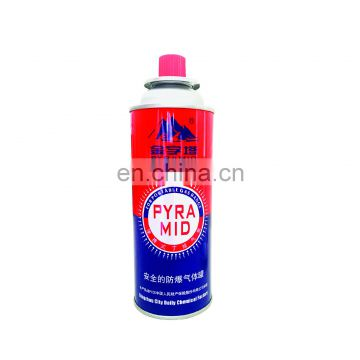 Cassette Butane Gas Cylinder and disposable butane gas  made in china