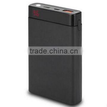 10000mah Wholesale Quick Charge Type-C Power Bank for Huawei , Blackberry , Samsung , iPhone