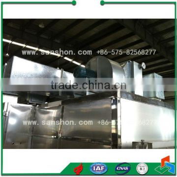 band dryer for vegetable and fruit