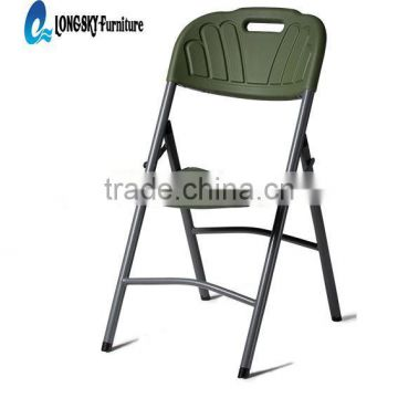 HDPE blow molding cheap plastic folding chairs for wedding,picnic,party,meeting
