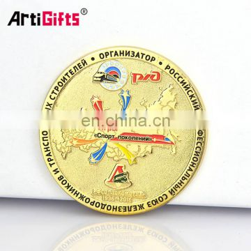 Wholesale custom russia dubai old islamic souvenir commemorative challenge coin