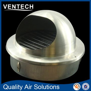 8 inch ceiling vent cap stainless steel ball weather louver grille