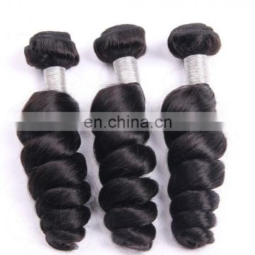 High Quality Loose wave Natural Colour 100% Unprocessed Virgin Peruvian Hair