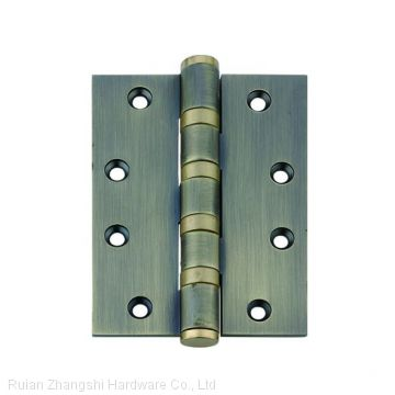 Modern folding brass metal two way  door hinge for wood frame
