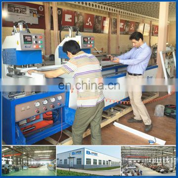 Double head welding machine for UPVC windows door fabrication