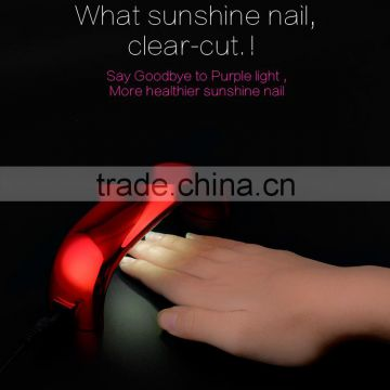 Free Sample!Sun-light 9W mini uv led gel nail polish lamp nail art kits                                                                         Quality Choice