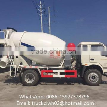 3 4 5 Cubic Meters Concrete Tank Truck With Hydraulic Pump