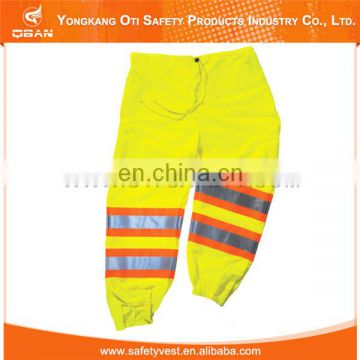 New style safety reflective linen trousers for men