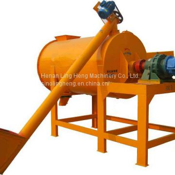 Horizontal Single Shaft Screw Mortar Mixer Dry Powder Mortar Blender