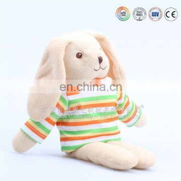 Soft rabbit toy for kids plush bunny toy
