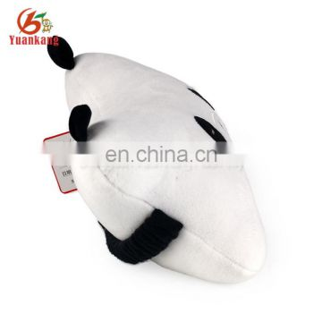 Plush panda bone shape soft car seat neck stuffed pillow