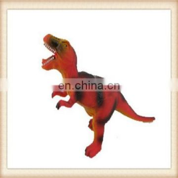 kids educational big soft rubber dinosaur toy