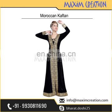 New Moroccan Party Wear Marriage Caftan Dress For Saudi Arabia 6117