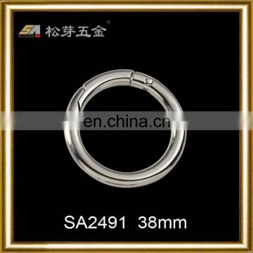 Super quality hot sell shiny swimwear o ring buckles