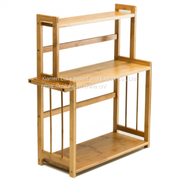 3-tier Bamboo Standing Spice Rack