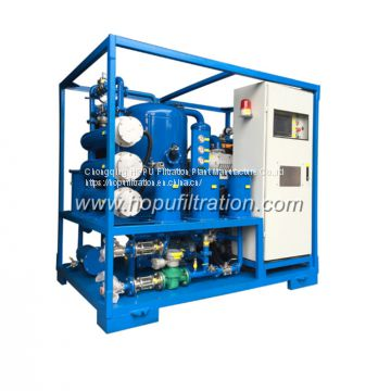 mobile trailer mounted vacuum transformer oil purifier,insulation oil filtration ,dielectric oil purification system