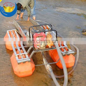 Underwater gold mining equipment gold dredging boat for sale