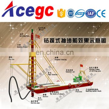 River gold mining boat / river gold mining equipment / gold mining plant for sale