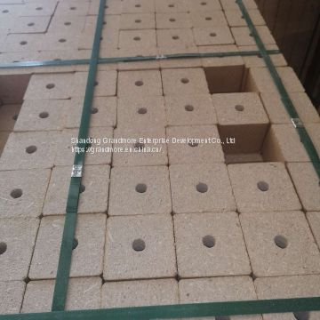 Korea Market Mould Chip Block for Pallet Foot Pier 80*80mm