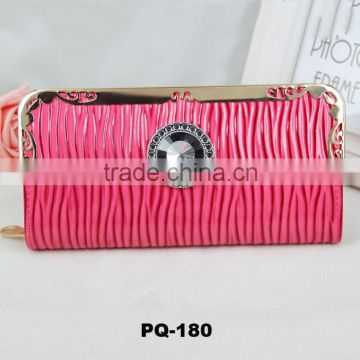 2015 new fashion many colors water ripple Long PU leathwe women purse  wallet card holder phone ... 00b39f8ce5
