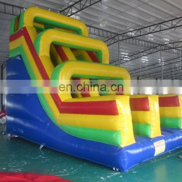 2017 Aier super fun inflatable slide /new design beautiful inflatable slide