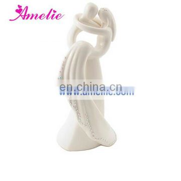A07387 Customized Porcelain Wedding Cake Toppers 2015