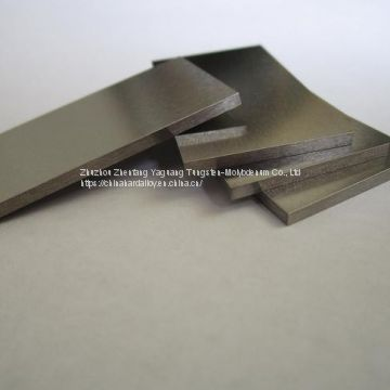 99.95% Zhuzhou Tungsten Strip W1 tungsten plate