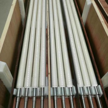 Ceramic rollers for Glass Tempering furnace