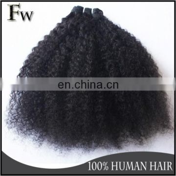 Top grade 8a raw indian hair extension human hair remy afro wave hair