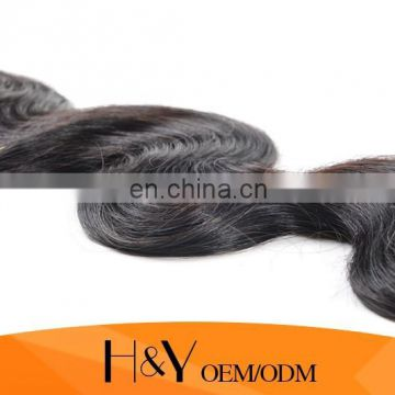 Top grade 8A 100% natural black color Brazilian hair body wave 100% Human Hair unprocessed hair