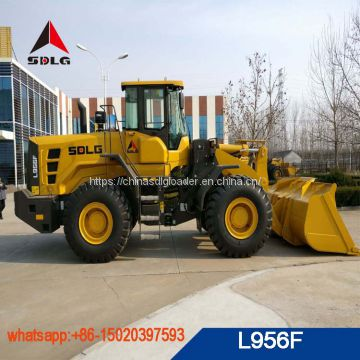 Hot sale SDLG L956F wheel loader with WD10G220E23 engine,low price