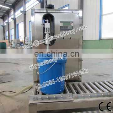 Weighing type semi-auto paint liquid filler filling and capping machine