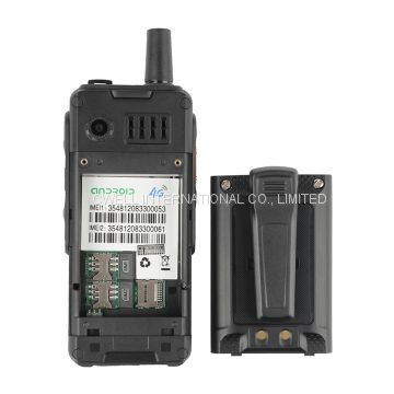2.4 Inch IPS Screen 4000mAh Big Battery IP65 Waterproof 4G LTE Alps F40 Zello Walkie Talkie Mobilephone