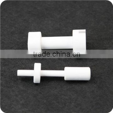 High temperature resistance insulating threaded alumina ceramic rod                                                                         Quality Choice