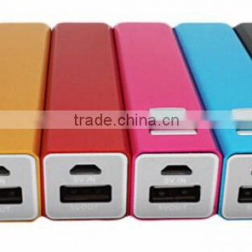Hot Sale Colorful Portable Charger Power Bank 1000ma