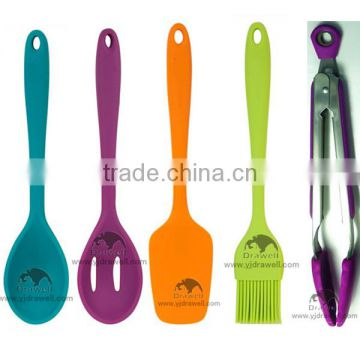sp 1091 colorful silicone kitchen utensils - Kitchen Wares