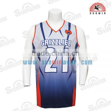 2be29c9b77d OEM design polyester sublimated manufacturer customized college basketball  jerseys of Basketball Uniform from China Suppliers - 144958550