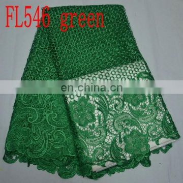 sequins guipure lace/cord lace/African lace fabric/latest 2015(FL546)high quality/best price/prompt delivery/in stock