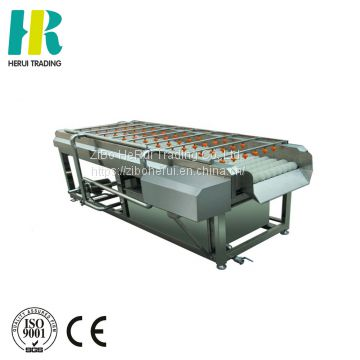 Potato peeler brush washing equipment fresh fruit and vegetable machine vegetables polishing machines