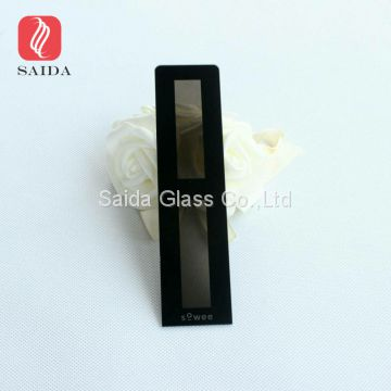 Ultra clear glass cover for lamp shade