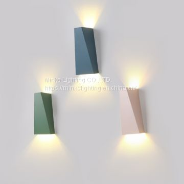 Indoor LED up down led wall light