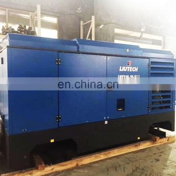 Good cost performance trailer mounted 300 cfm air compressor regulator made in China
