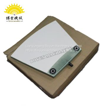 Copper and nickel concentrate desulfurization ceramic filter plate