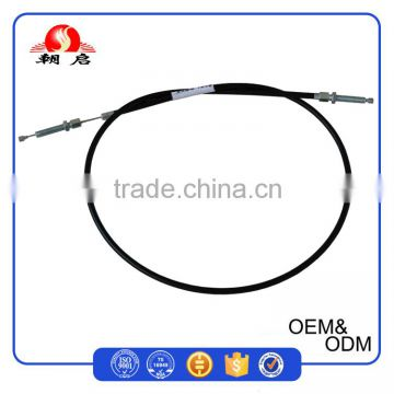 Black PVC Material Cheap Price China Agricultural Machinery Parts / Tiller Clutch Cables