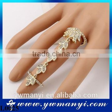Hot 3d Nail Jewelry Charms Glitter Beauty Shinning Nail Art Decorations Ring Finger jewelry L0025