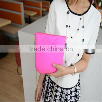 2015 New arrival silicone shopping bag /hand bag/Fashion silicone shoulder bag for lady
