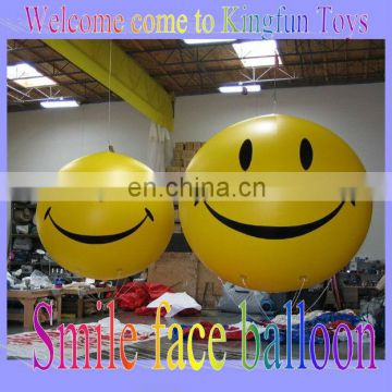 Smile face inflatable air balloon